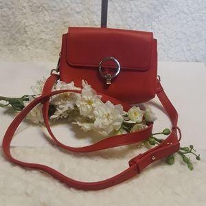 Topshop Red Crossbody purse
